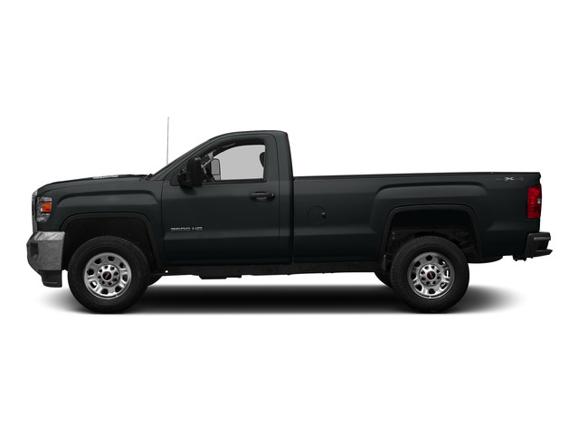 Stealth Gray Metallic 2015 GMC Sierra 3500HD Pictures Sierra 3500HD Regular Cab Work Truck 4WD photos side view