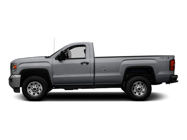 Quicksilver Metallic 2015 GMC Sierra 3500HD Pictures Sierra 3500HD Regular Cab Work Truck 4WD photos side view