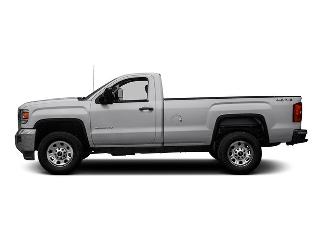 Summit White 2015 GMC Sierra 3500HD Pictures Sierra 3500HD Regular Cab Work Truck 4WD photos side view
