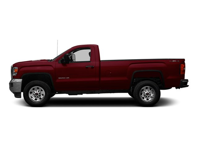 Sonoma Red Metallic 2015 GMC Sierra 3500HD Pictures Sierra 3500HD Regular Cab Work Truck 4WD photos side view