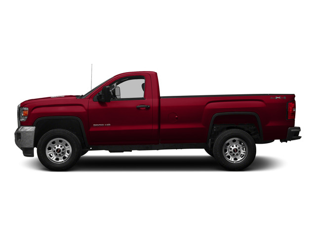 Fire Red 2015 GMC Sierra 3500HD Pictures Sierra 3500HD Regular Cab Work Truck 4WD photos side view
