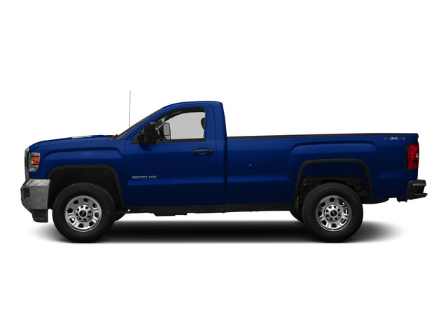 Cobalt Blue Metallic 2015 GMC Sierra 3500HD Pictures Sierra 3500HD Regular Cab Work Truck 4WD photos side view