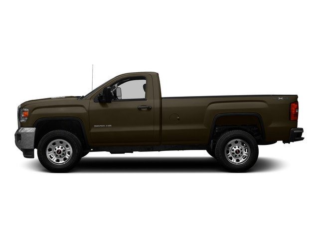 Bronze Alloy Metallic 2015 GMC Sierra 3500HD Pictures Sierra 3500HD Regular Cab Work Truck 4WD photos side view