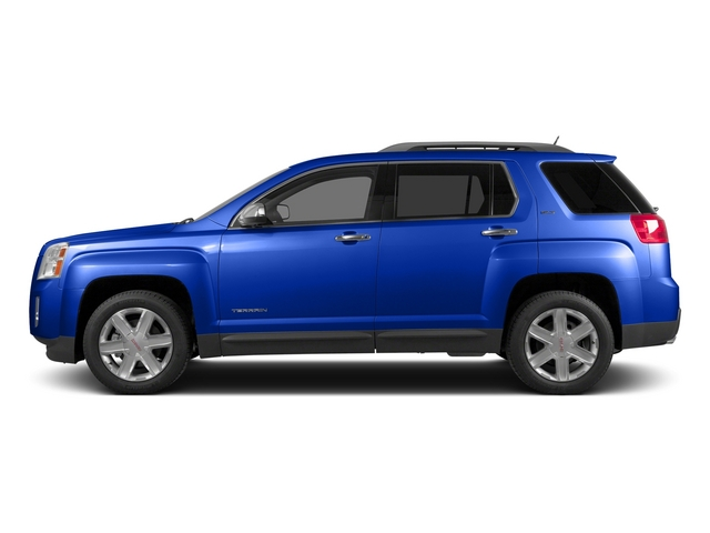 Dark Sapphire Blue Metallic 2015 GMC Terrain Pictures Terrain Utility 4D SLT AWD photos side view