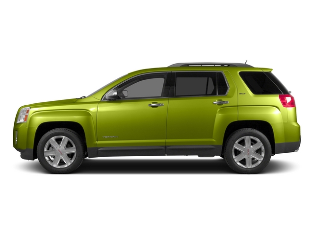 Cypress Green Metallic 2015 GMC Terrain Pictures Terrain Utility 4D SLT AWD photos side view