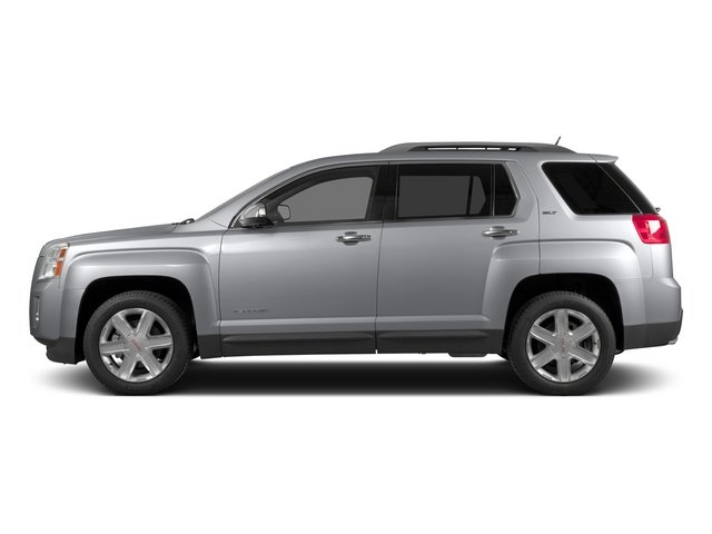 Quicksilver Metallic 2015 GMC Terrain Pictures Terrain Utility 4D SLT AWD photos side view