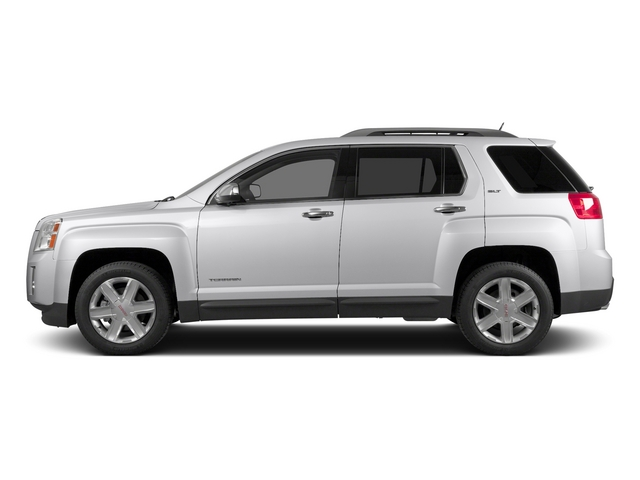 Summit White 2015 GMC Terrain Pictures Terrain Utility 4D SLT AWD photos side view
