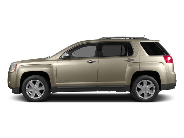 Champagne Silver Metallic 2015 GMC Terrain Pictures Terrain Utility 4D SLT AWD photos side view