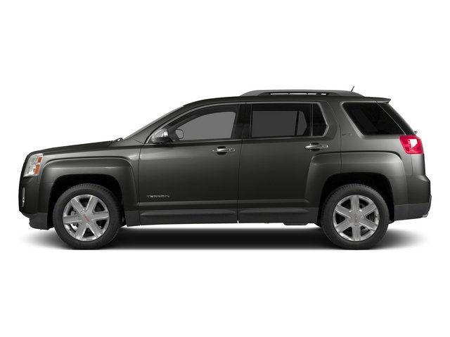 Iridium Metallic 2015 GMC Terrain Pictures Terrain Utility 4D SLT AWD photos side view