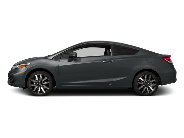 Modern Steel Metallic 2015 Honda Civic Coupe Pictures Civic Coupe 2D EX-L I4 photos side view