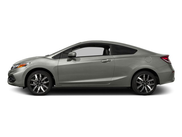 Alabaster Silver Metallic 2015 Honda Civic Coupe Pictures Civic Coupe 2D EX-L I4 photos side view