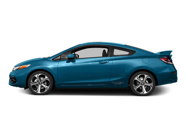 Dyno Blue Pearl 2015 Honda Civic Coupe Pictures Civic Coupe 2D Si I4 photos side view