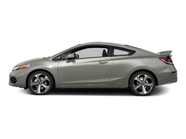 Alabaster Silver Metallic 2015 Honda Civic Coupe Pictures Civic Coupe 2D Si I4 photos side view