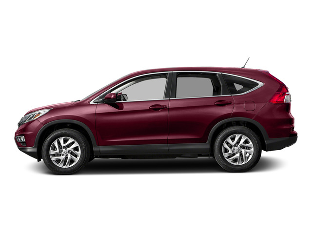 Basque Red Pearl II 2015 Honda CR-V Pictures CR-V Utility 4D EX AWD I4 photos side view