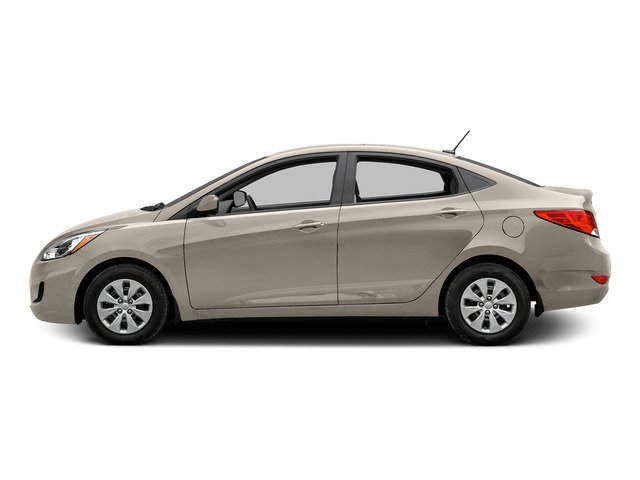 Misty Beige Metallic 2015 Hyundai Accent Pictures Accent Sedan 4D GLS I4 photos side view