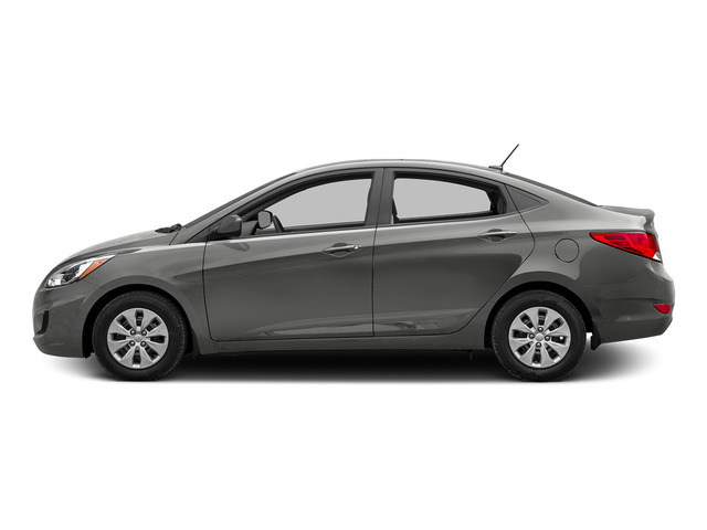 Ironman Silver Metallic 2015 Hyundai Accent Pictures Accent Sedan 4D GLS I4 photos side view