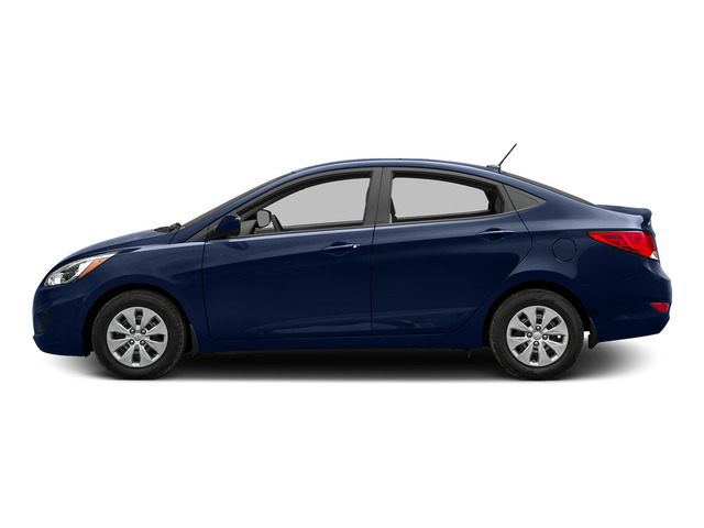 Pacific Blue Pearl 2015 Hyundai Accent Pictures Accent Sedan 4D GLS I4 photos side view