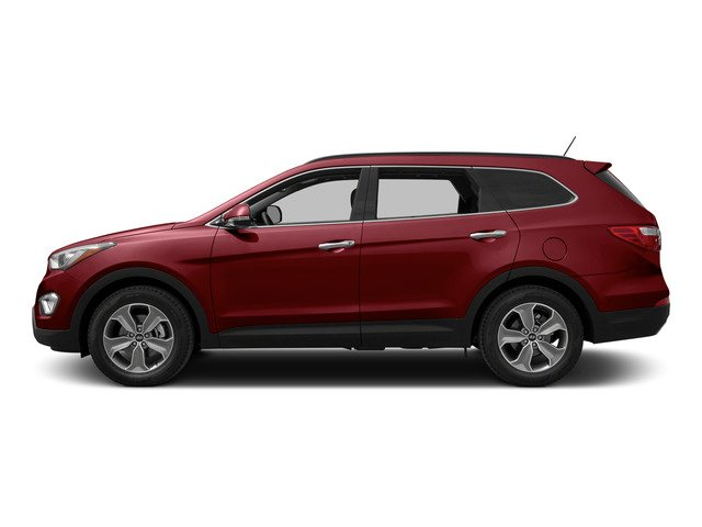 Regal Red Pearl 2015 Hyundai Santa Fe Pictures Santa Fe Utility 4D Limited AWD photos side view