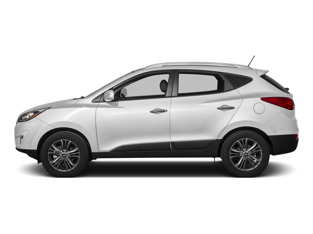 Winter White Solid 2015 Hyundai Tucson Pictures Tucson Utility 4D Limited AWD I4 photos side view