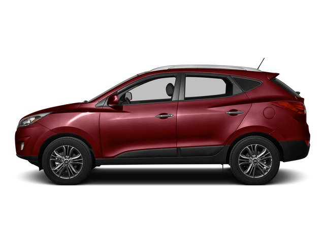 Garnet Red Mica 2015 Hyundai Tucson Pictures Tucson Utility 4D Limited AWD I4 photos side view
