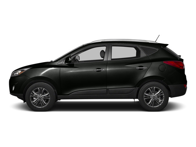 Ash Black Mica 2015 Hyundai Tucson Pictures Tucson Utility 4D Limited AWD I4 photos side view