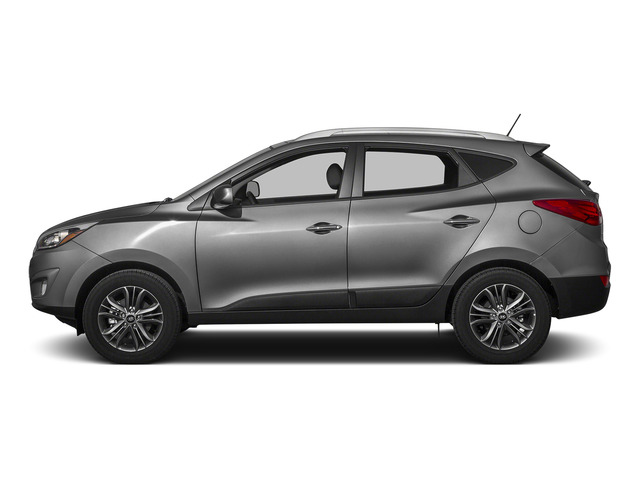Graphite Gray Metallic 2015 Hyundai Tucson Pictures Tucson Utility 4D Limited AWD I4 photos side view