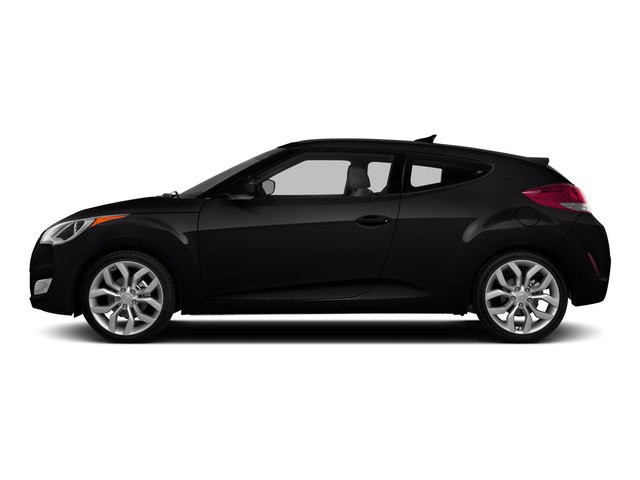 Ultra Black Pearl 2015 Hyundai Veloster Pictures Veloster Coupe 3D I4 photos side view