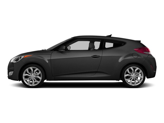 Triathlon Gray Metallic 2015 Hyundai Veloster Pictures Veloster Coupe 3D I4 photos side view