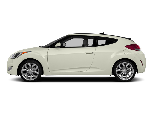 Century White 2015 Hyundai Veloster Pictures Veloster Coupe 3D I4 photos side view