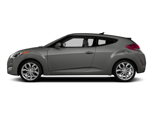Ironman Silver Metallic 2015 Hyundai Veloster Pictures Veloster Coupe 3D I4 photos side view