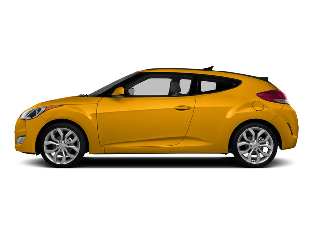 26.2 Yellow 2015 Hyundai Veloster Pictures Veloster Coupe 3D I4 photos side view