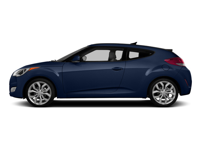 Pacific Blue Pearl 2015 Hyundai Veloster Pictures Veloster Coupe 3D I4 photos side view