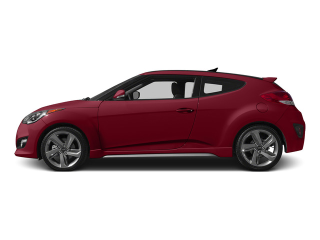 Boston Red Metallic 2015 Hyundai Veloster Pictures Veloster Coupe 3D I4 Turbo photos side view