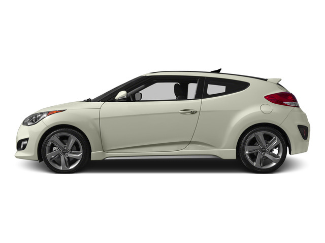 Century White 2015 Hyundai Veloster Pictures Veloster Coupe 3D I4 Turbo photos side view