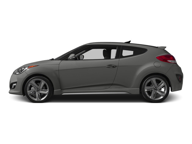 Ironman Silver Metallic 2015 Hyundai Veloster Pictures Veloster Coupe 3D I4 Turbo photos side view
