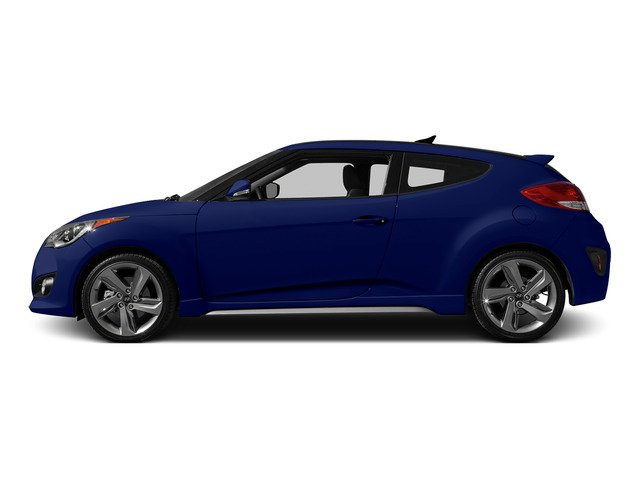 Marathon Blue Pearl 2015 Hyundai Veloster Pictures Veloster Coupe 3D I4 Turbo photos side view