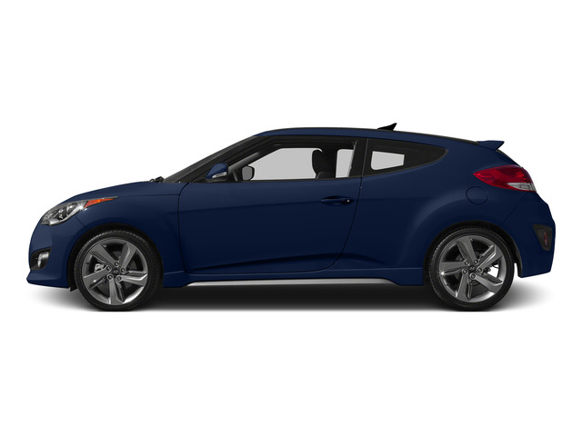Pacific Blue Pearl 2015 Hyundai Veloster Pictures Veloster Coupe 3D I4 Turbo photos side view