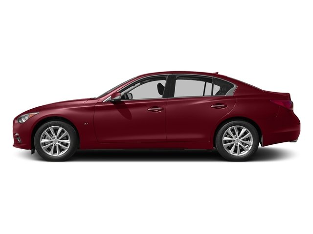 Venetian Ruby 2015 INFINITI Q50 Pictures Q50 Sedan 4D Sport AWD V6 photos side view