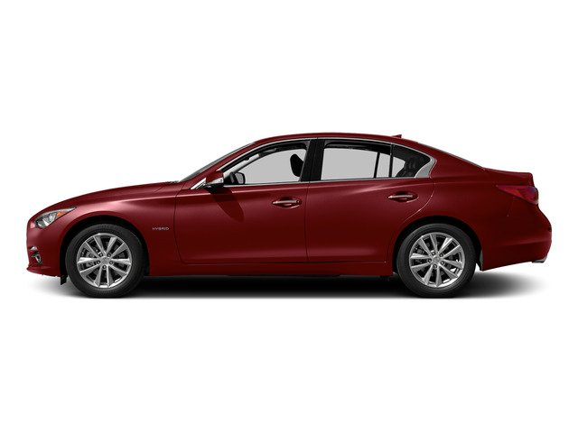Venetian Ruby 2015 INFINITI Q50 Pictures Q50 Sedan 4D Sport V6 Hybrid photos side view