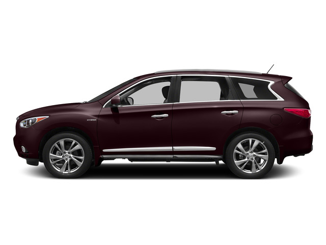 Midnight Garnet 2015 INFINITI QX60 Pictures QX60 Utility 4D Hybrid 2WD I4 photos side view