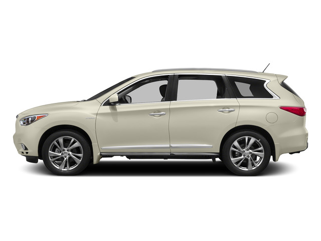 Majestic White 2015 INFINITI QX60 Pictures QX60 Utility 4D Hybrid 2WD I4 photos side view