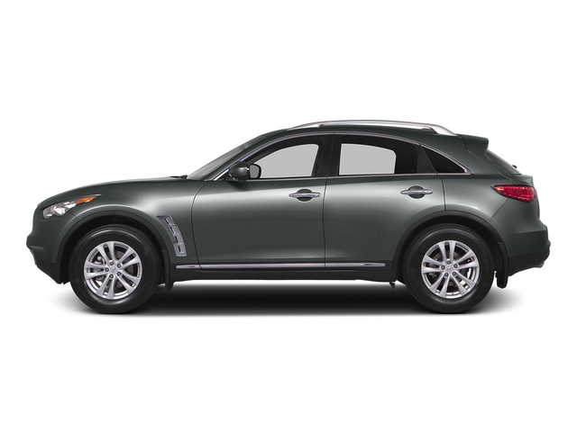 Graphite Shadow 2015 INFINITI QX70 Pictures QX70 Utility 4D 2WD V6 photos side view