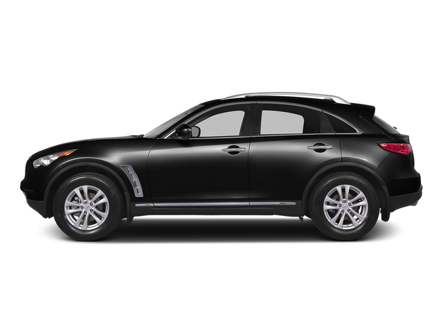 Black Obsidian 2015 INFINITI QX70 Pictures QX70 Utility 4D 2WD V6 photos side view