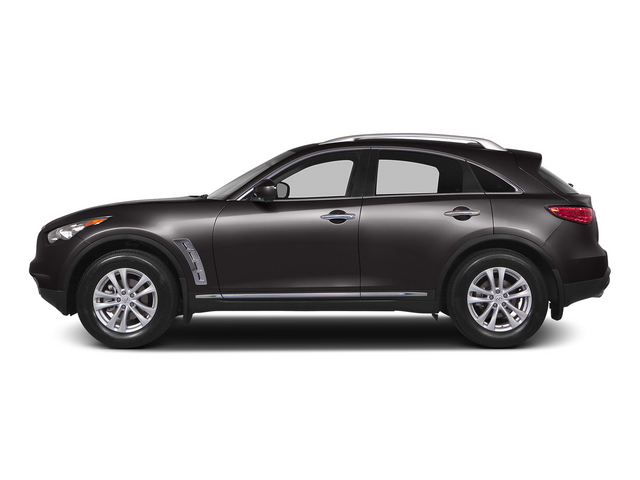 Midnight Mocha 2015 INFINITI QX70 Pictures QX70 Utility 4D 2WD V6 photos side view