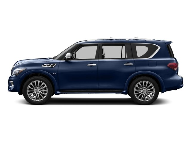 Hermosa Blue 2015 INFINITI QX80 Pictures QX80 Utility 4D 2WD V8 photos side view