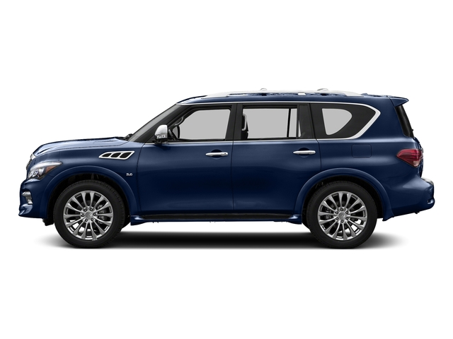 Hermosa Blue 2015 INFINITI QX80 Pictures QX80 Utility 4D AWD V8 photos side view