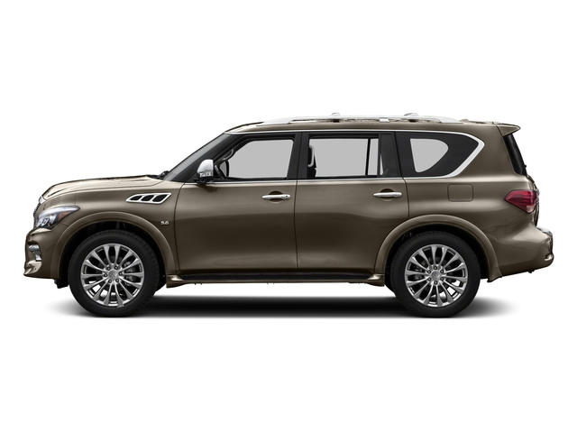 Mocha Almond 2015 INFINITI QX80 Pictures QX80 Utility 4D AWD V8 photos side view
