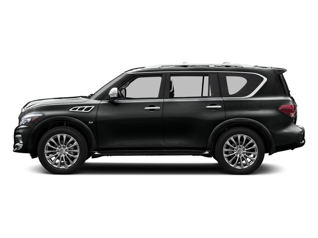 Imperial Black 2015 INFINITI QX80 Pictures QX80 Utility 4D AWD V8 photos side view