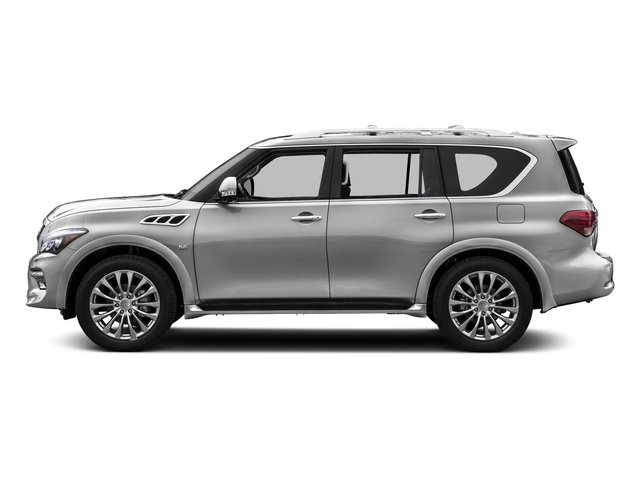 Liquid Platinum 2015 INFINITI QX80 Pictures QX80 Utility 4D 2WD V8 photos side view