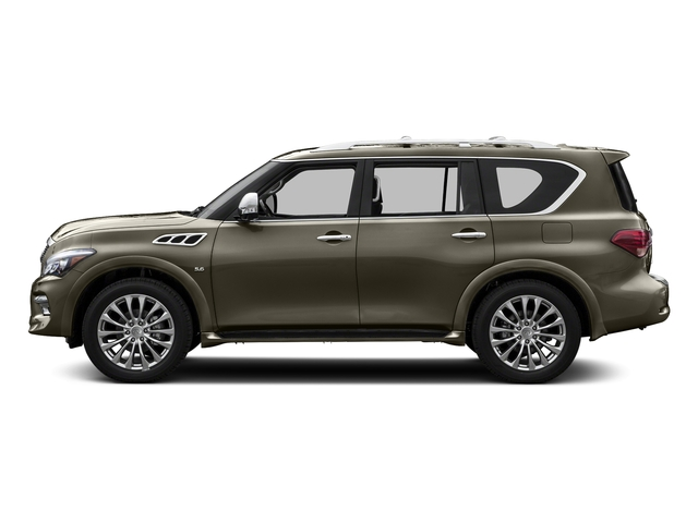 Smoky Quartz 2015 INFINITI QX80 Pictures QX80 Utility 4D 2WD V8 photos side view